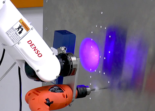 Robotic drilling