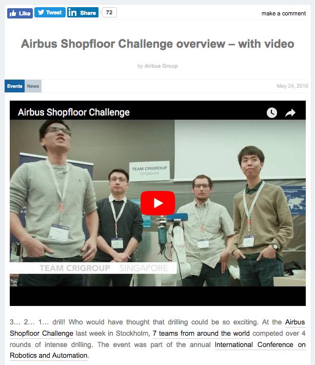 Airbus Challenge